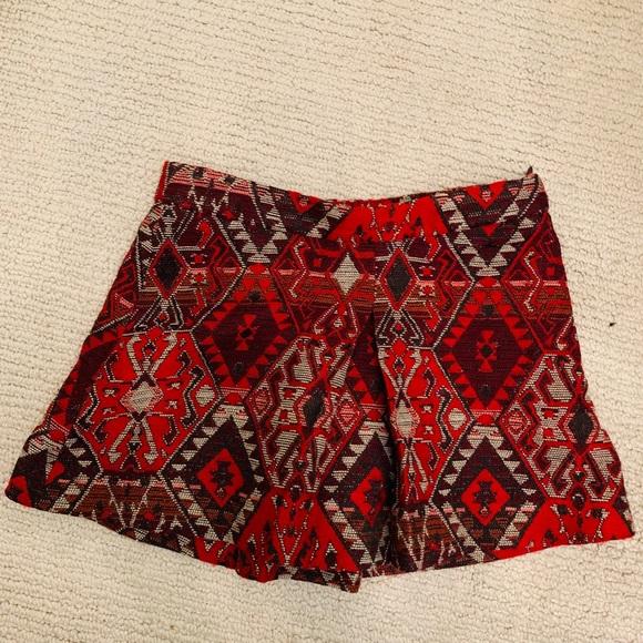 Zara Other - red and white girl skirt
